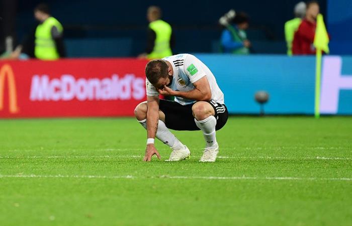 Gonzalo Higuaín volvió a errar en un momento clave. Foto: AFP