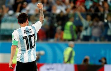 Lionel Messi fue elegido el mejor jugador del partido