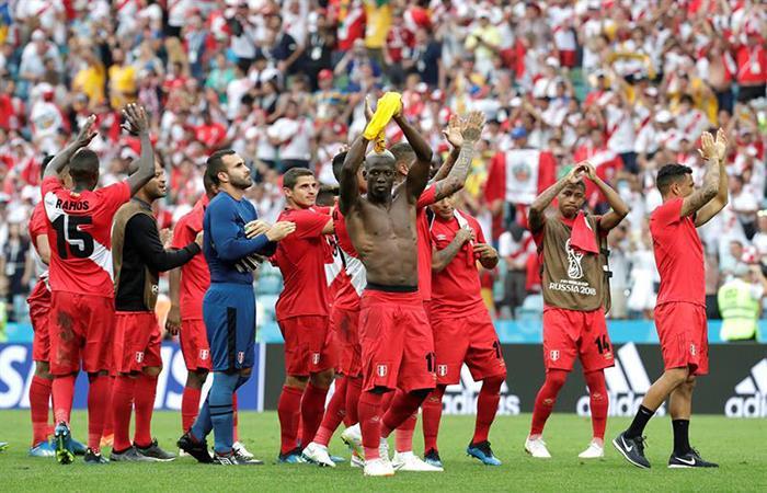 La Selección de Perú logró un merecido triunfo y se despide del Mundial por lo alto. (FOTO: EFE)