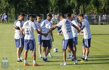 Selección Argentina: la 'albiceleste' ya se entrena pensando en Francia