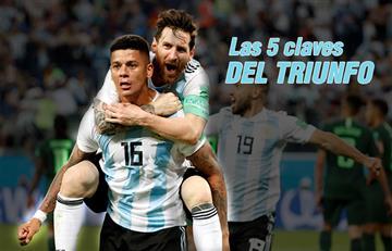 Selección Argentina: las 5 claves del triunfo de la 'albiceleste'
