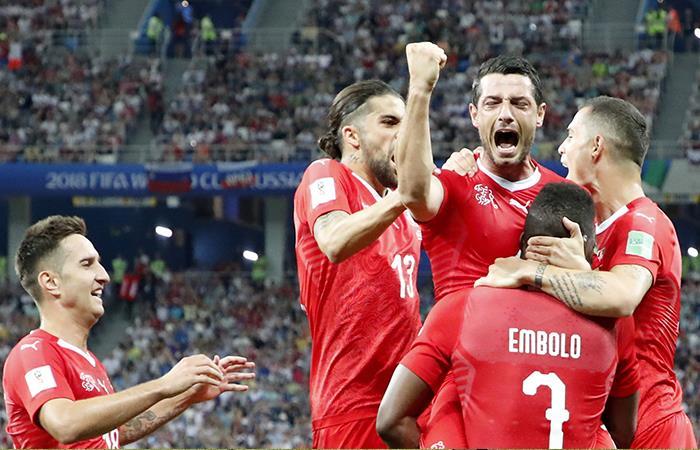 Suiza igualó 2-2 ante Costa Rica (Foto: EFE)
