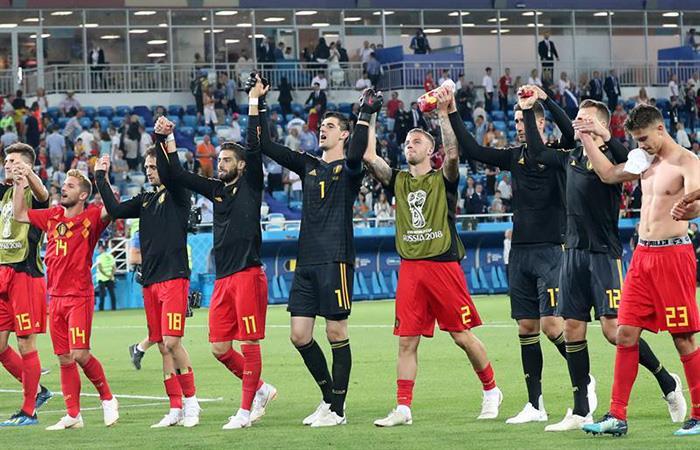 Bélgica le ganó a Inglaterra y ya se conocen los rivales en octavos. Foto: EFE