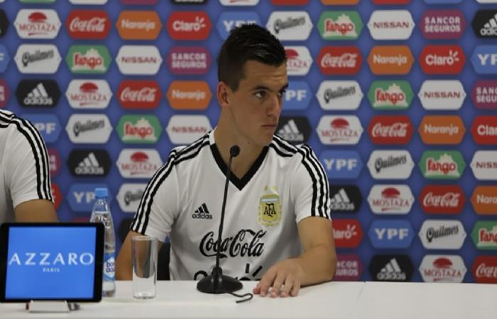 Giovani Lo Celso. Foto: AFP