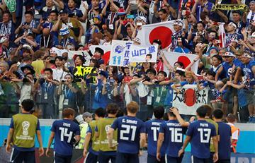 Japón perdió, pero se clasificó a octavos por el juego limpio