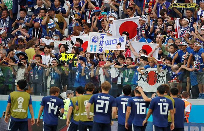 Japón está en los octavos del Mundial. (FOTO: EFE)