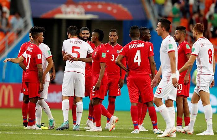 Túnez y Panamá se despidieron del Mundial con un buen partido. Foto: EFE
