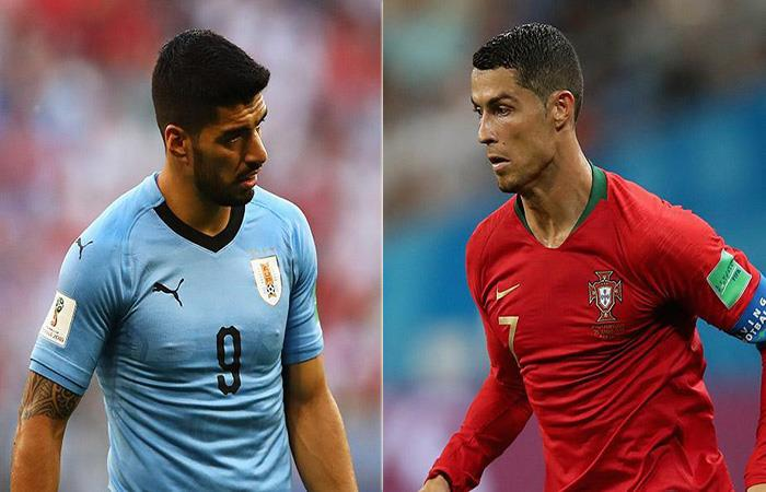 Luis Suárez y Cristiano Ronaldo tendrán un duelo aparte. Foto: EFE