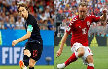 Croacia vs Dinamarca EN VIVO ONLINE por el Mundial de Rusia 2018
