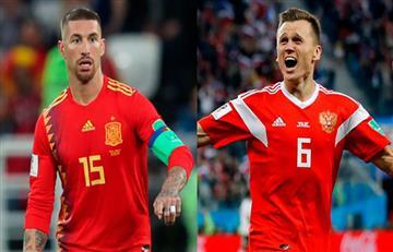 España vs Rusia EN VIVO ONLINE por los octavos de final del Mundial