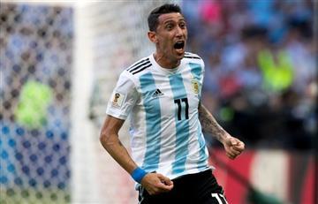 ¡Golazo! Ángel Di María marcó un tremendo gol para la igualdad