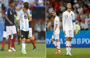 Lionel Messi y Cristiano Ronaldo se quedaron sin Mundial