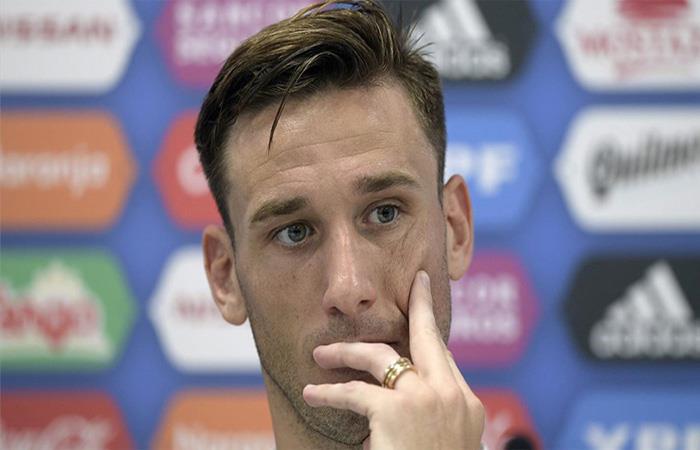 Lucas Biglia. (FOTO: AFP)
