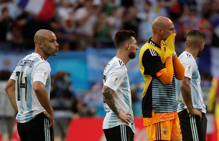 Javier Mascherano se despide de la Selección Argentina. (FOTO: EFE)