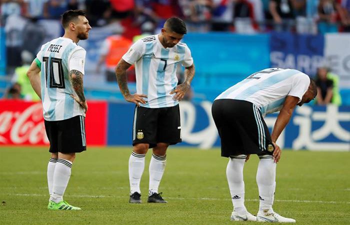 La Argentina se despide de Rusia 2018. (FOTO: EFE)