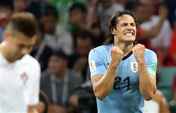 Uruguay derrotó al Portugal de Cristiano Ronaldo y clasifica a cuartos del Mundial