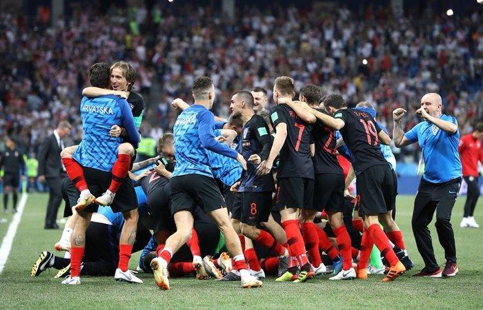 Croacia venció 3-2 a Dinamarca (Foto: Twitter)