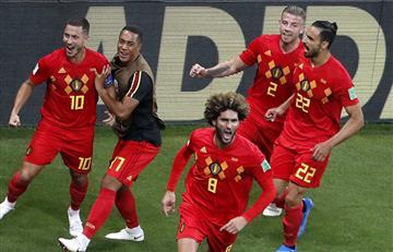 Bélgica vence a Japón y avanza a los cuartos de final de Rusia 2018