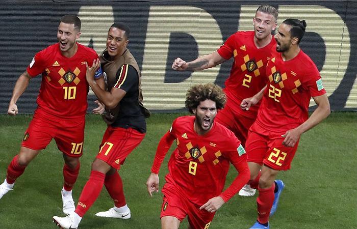 Bélgica derrotó 3-2 a Japón (Foto: Twitter)