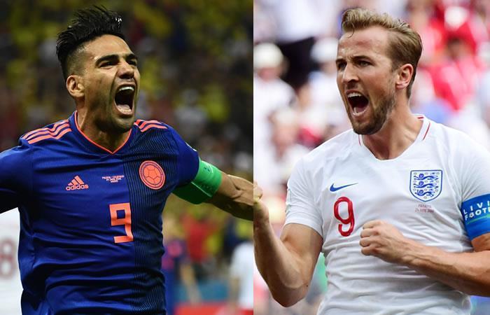 Radamel Falcao y Harry Kane tendrán un duelo aparte. Foto: AFP