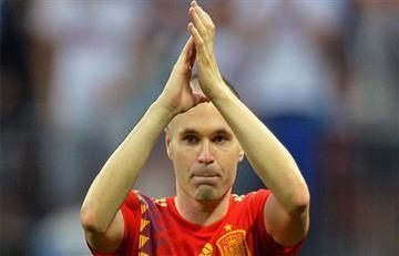 Andrés Iniesta se despide de la Selección de España con emotivo mensaje.