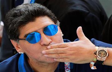 Diego Armando Maradona se ofrece para dirigir gratis a la Selección Argentina