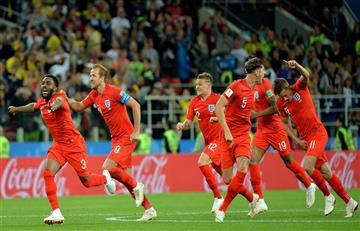 Inglaterra derrotó en los penales a Colombia y clasifica a cuartos de final del Mundial
