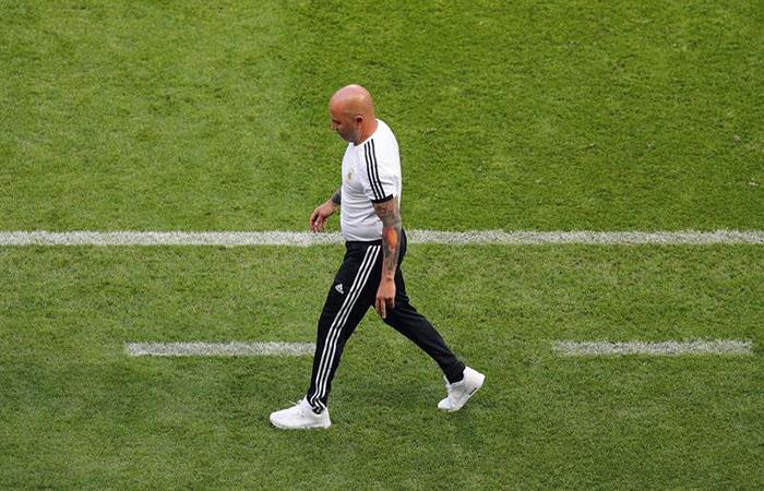 Jorge Sampaoli no quiere irse de la Selección Argentina. Foto: EFE