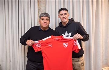 Independiente anuncia a al 'Tucu' Hernández como nuevo refuerzo