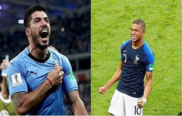 Uruguay vs Francia EN VIVO ONLINE por los cuartos de final del Mundial