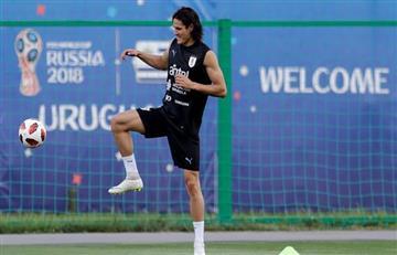 Uruguay vs Francia: Óscar Tabárez se reserva si Edinson Cavani jugará o no