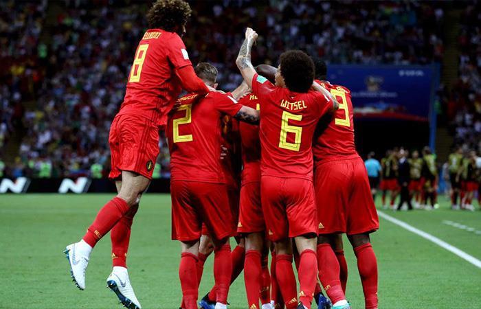 Bélgica derrotó 2-1 a Brasil (Foto: Twitter)