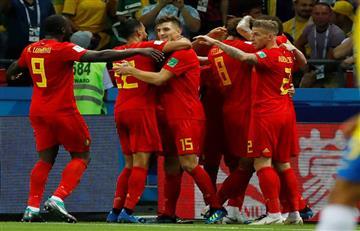 Brasil vs Bélgica: mirá los goles de la victoria parcial belga