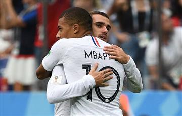 Francia eliminó a Uruguay y clasificó a la semifinal del Mundial