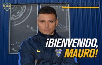 Mauro Zárate es oficialmente jugador de Boca Juniors