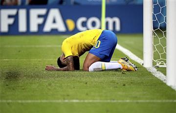 Rusia 2018: los datos de Neymar tras la eliminación de Brasil