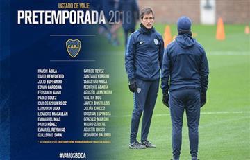 Boca Juniors: la lista de Guillermo que comienza la pretemporada
