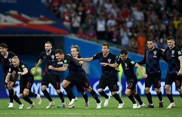 Croacia es el cuarto clasificado a semifinales tras derrotar a Rusia