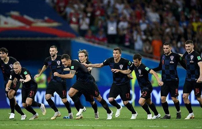 Croacia venció 4-3 a Rusia (Foto: Twitter)