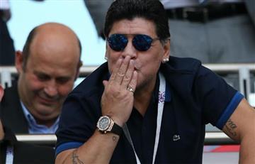 """Diego Maradona: """"Mbappé es el Cavani que le faltó a Uruguay"""""""