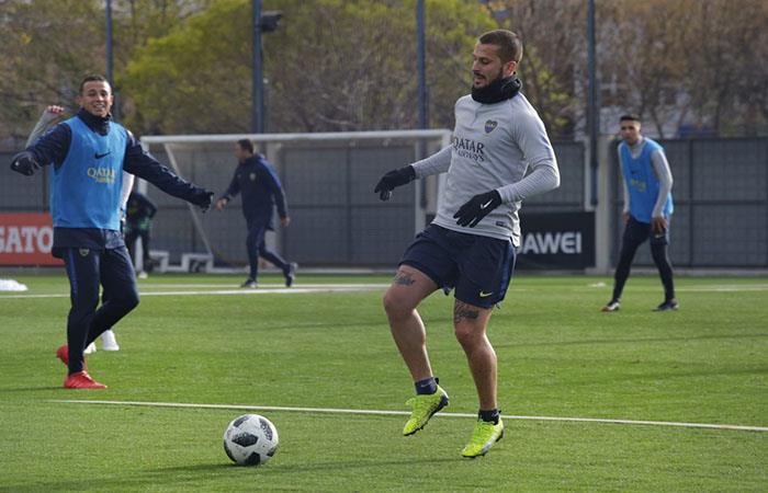 Darío Benedetto llegará a punto para el inicio de la Superliga. (FOTO: Twitter)