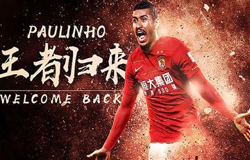 Paulinho deja el Barcelona para volver al fútbol chino