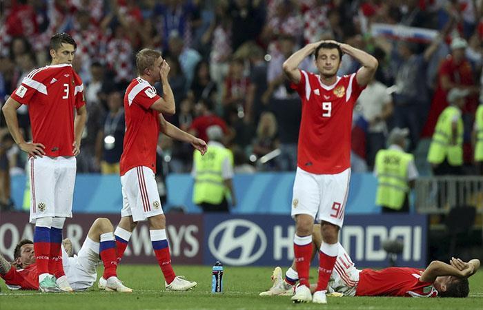 Selección de Rusia (Foto: Twitter)