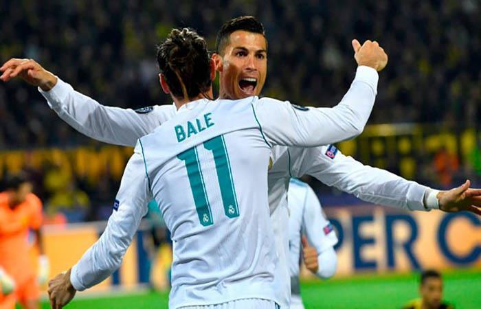 Cristiano Ronaldo y Gareth Bale. (FOTO: EFE)