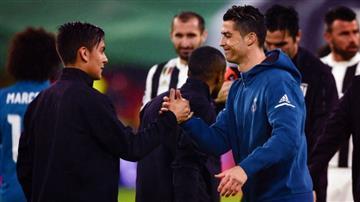 Cristiano Ronaldo: Paulo Dybala le dio la bienvenida al astro portugués a la Juventus