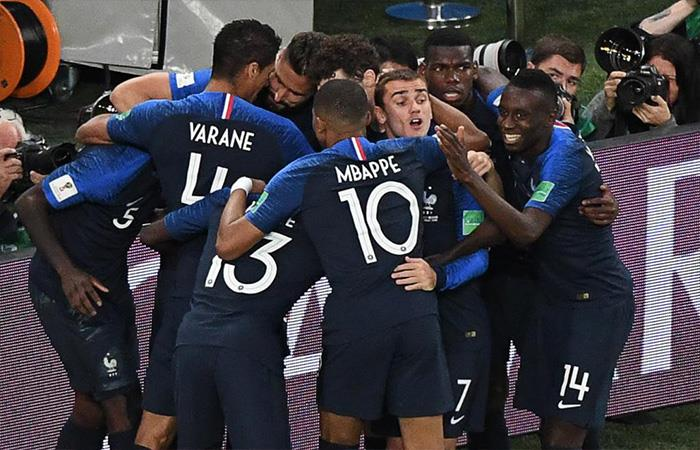 Francia derrotó 1-0 a Bélgica (Foto: Twitter)