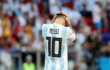 Selección Argentina: ¿Dónde está Messi?