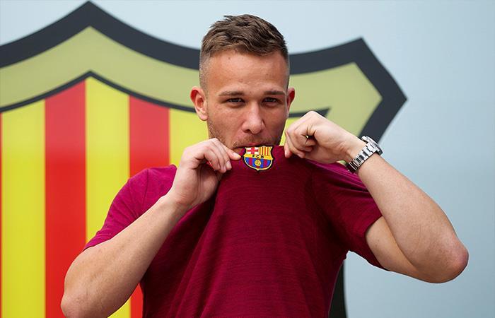 Arthur Melo el nuevo compañero de Lionel Messi en el Barcelona