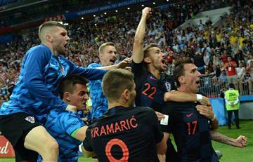 Croacia hace historia y se clasifica a la final del Mundial de Rusia 2018