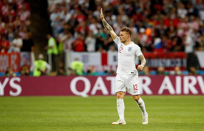 Inglaterra vs Croacia: mirá el golazo de Trippier con el que Inglaterra está en la final